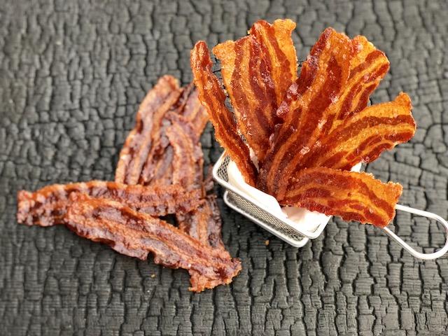 Karamelliseret Bacon Jerky