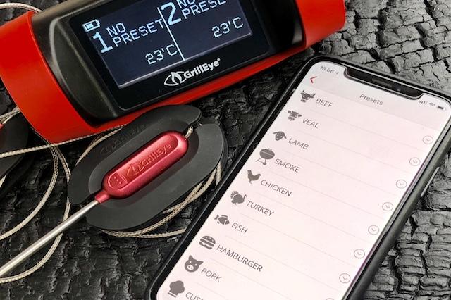 Forudindstillede temperaturer - GrillEye Pro Plus