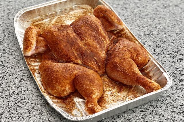 Spatchcock Chicken & Danish BBQ - Sweet Chicks BBQ RUB
