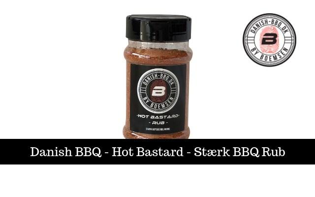 Hot Bastard | Stærk BBQ-Rub 200g