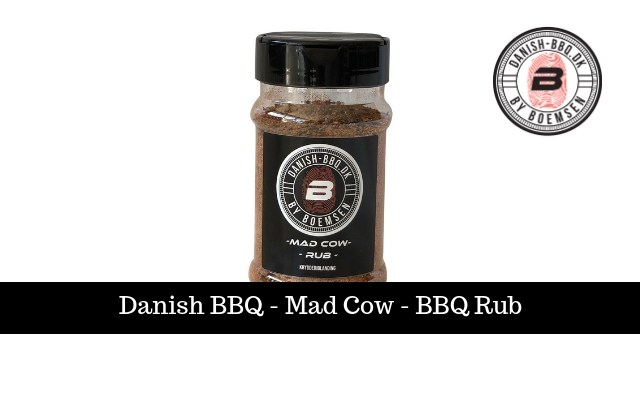Mad Cow | BBQ-Rub 220g