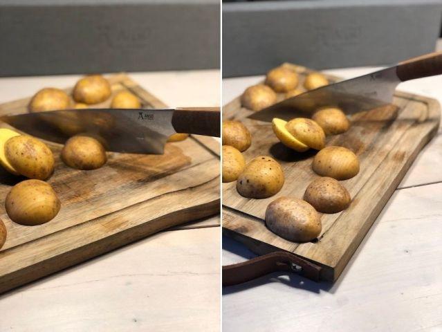 Njord snitter kartofler