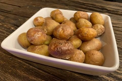 De færdige Saltkartofler