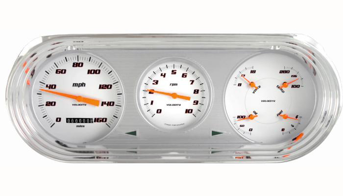 Classic Instruments 63-65 Chevy Nova Package Gauge Cluster