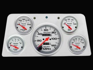 1960-1961 GMC Truck Direct Fit 5 Gauge Panels