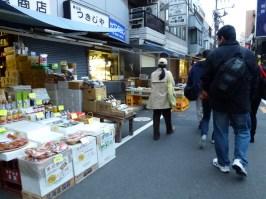 Jalan menuju Pasar Ikan