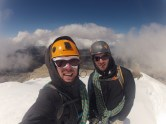 Topped out. Stoked is an understatement. 16,700ft