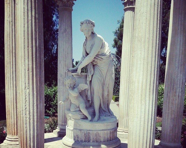 Huntington Library Statuary