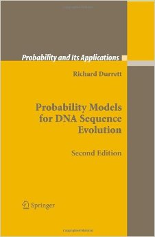 Book Cover of Probability Models for DNA Sequence Evolution by Richard Durrett