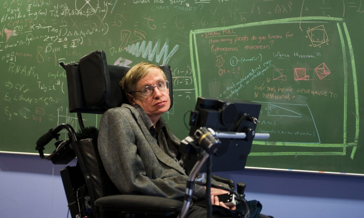 Stephen Hawking says he's solved a black hole mystery, but physicists await the proof
