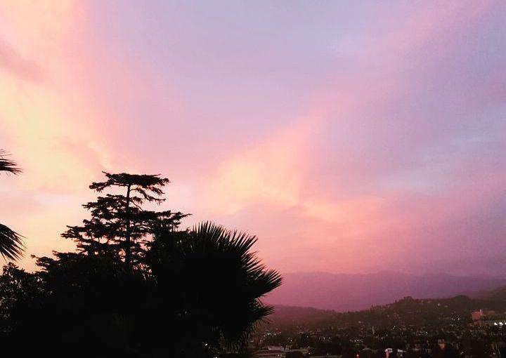 Sky over Glendale