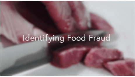 Identifying Food Fraud