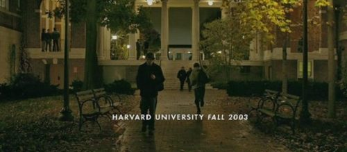 "Johns Hopkins was a prettier more ""college-y"" campus, so it got cast over Harvard in ""The Social Network."""