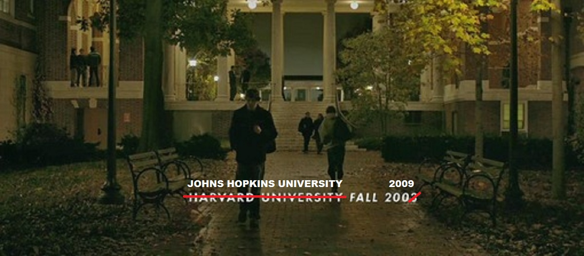 Johns Hopkins on film: A guide to university cameos big and small