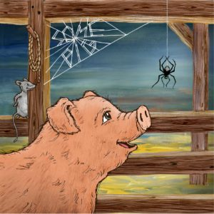 The writers struggle represented by Charlottes Web