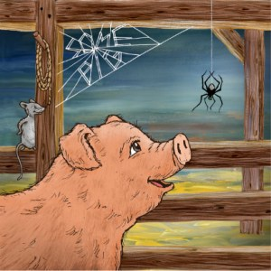 wilbur summersaults like any developing story the writers struggle represented by charlottes web