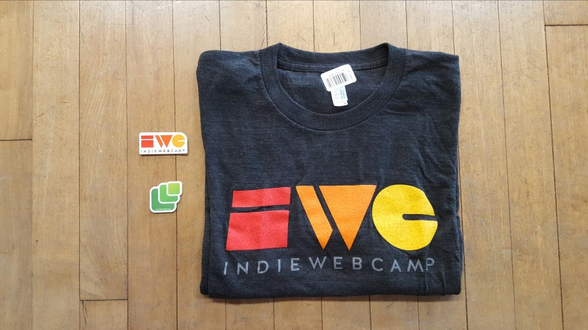 My Indieweb swag arrived!