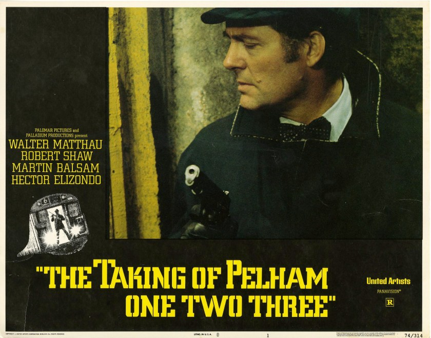 Robert Shaw in The Taking of Pelham One Two Three (United Artists, 1974)