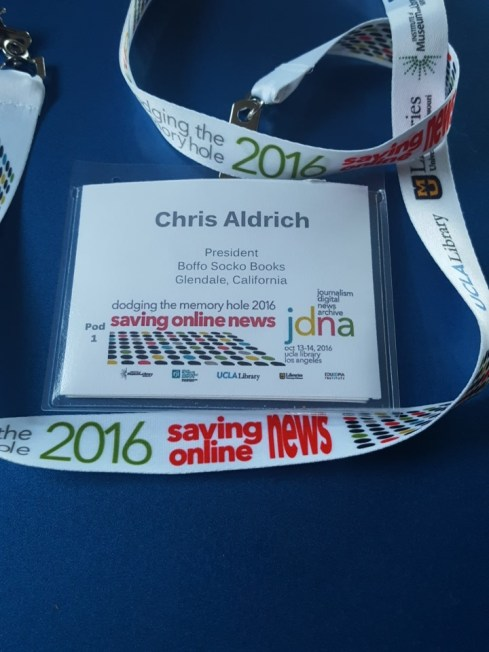 Lanyard and ID badge from DtMH2016