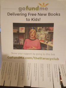 The Literacy Club has a GoFundMe.com campaign you should take a look at.