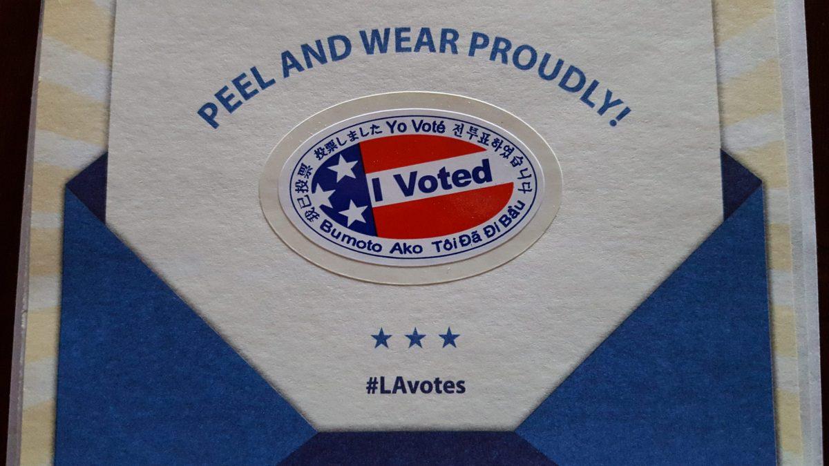 I Voted 🇺🇸