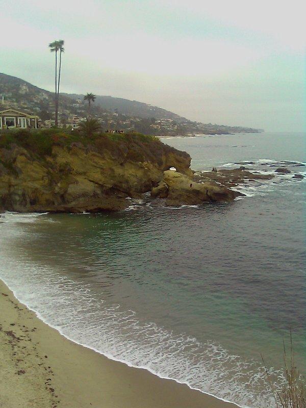 05/17/2009 A gray sunset in Laguna Beach