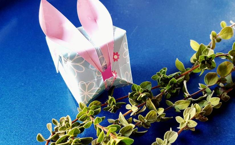 The bunnies are in the oregano again