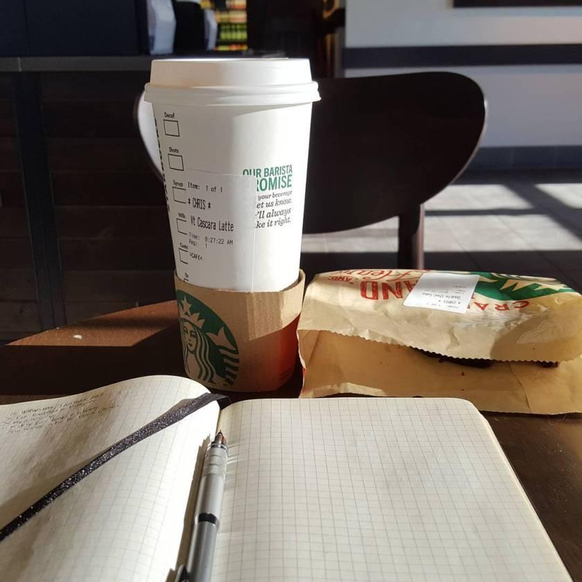 Morning staff meeting…