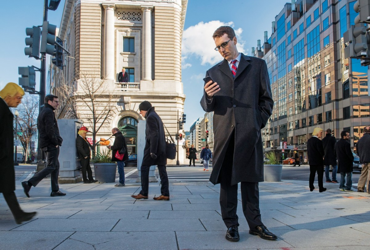 David Fahrenthold tells the behind-the-scenes story of his year covering Trump | The Washington Post