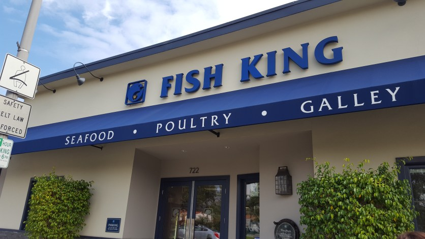 Fish King store front