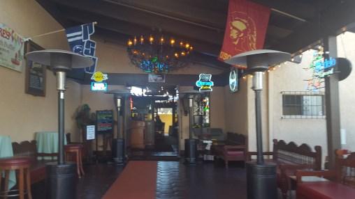 Entrance to Mijares Mexican Restaurant