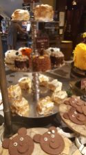 Dessert display you hit before the main entree lines