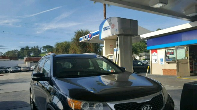 Arco Gas Station on York and Verdugo