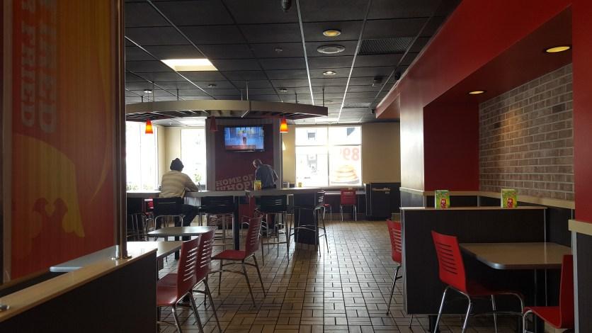 Burger King interior Glendale