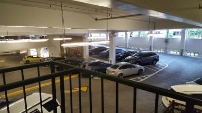 Interior of City of Pasadena Schoolhouse Garage