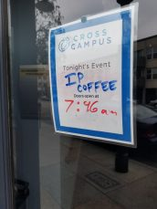 Heading into this weeks coffee meetup at Innovate Pasadena hosted by Cross Campus