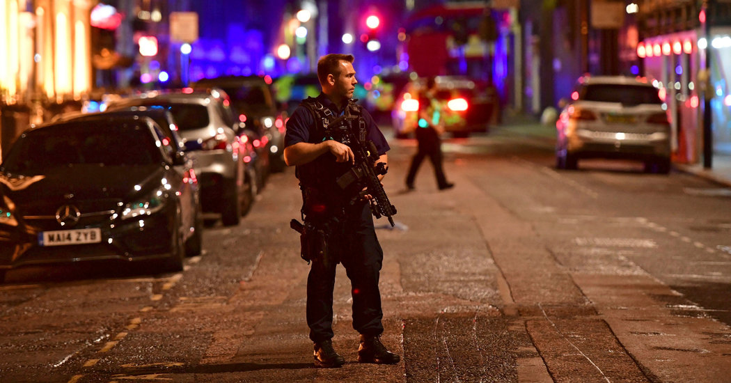 👓 Terrorist Attacks in the Heart of London Hit a Nation Still Reeling | The New York Times
