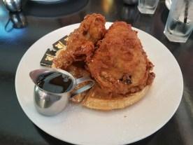 Fried Checkin & Waffle!