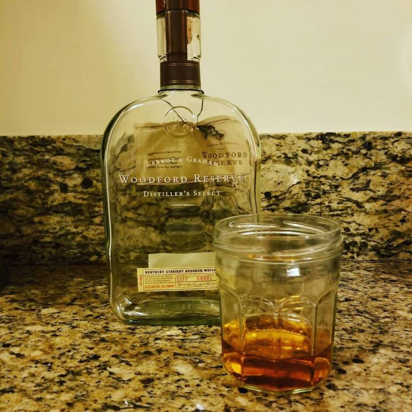 Packing day 5: Woodford Reserve