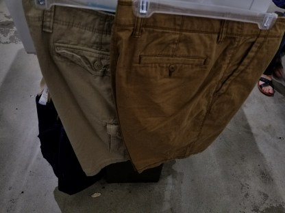 New shorts from Old Navy