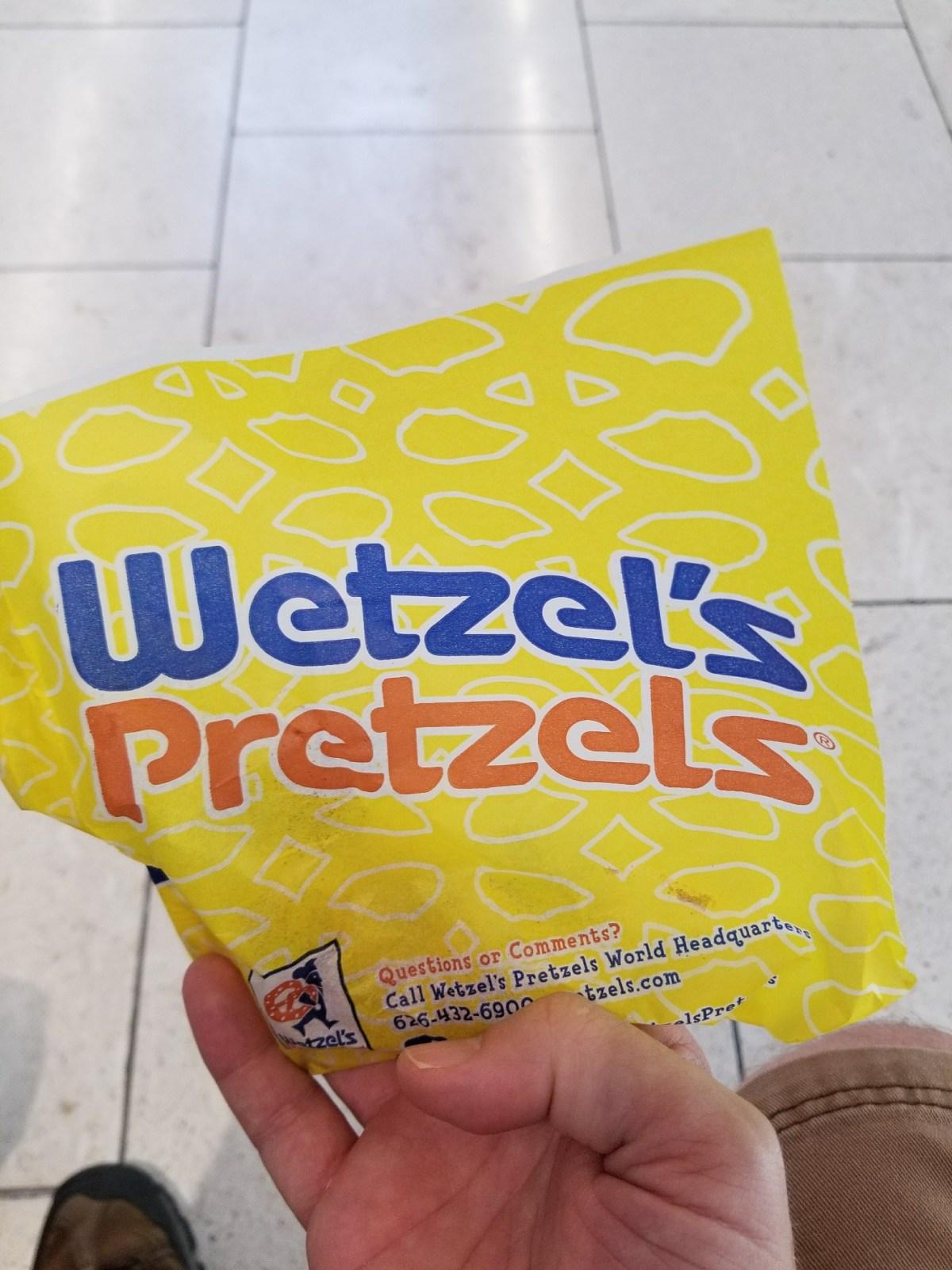 Checkin Wetzel's Pretzels