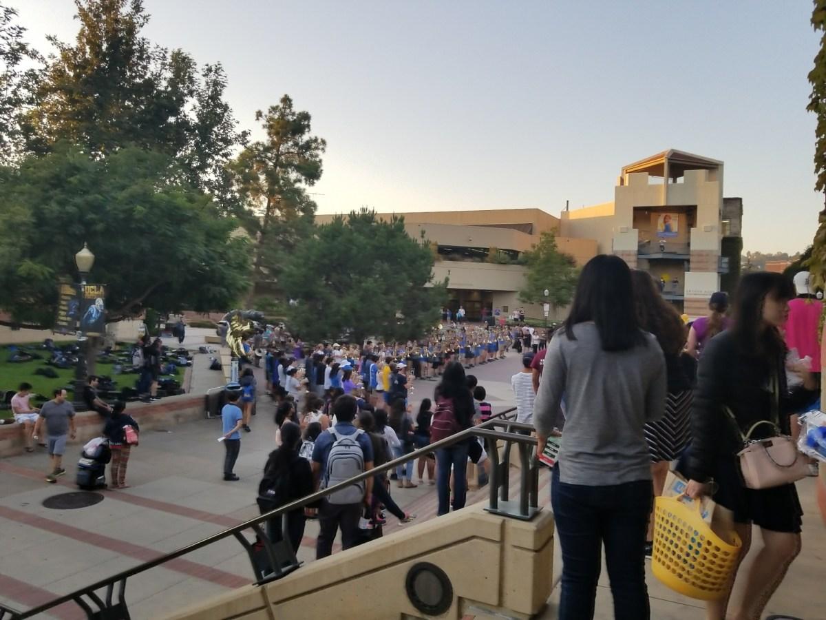 Checkin UCLA Ackerman Student Union