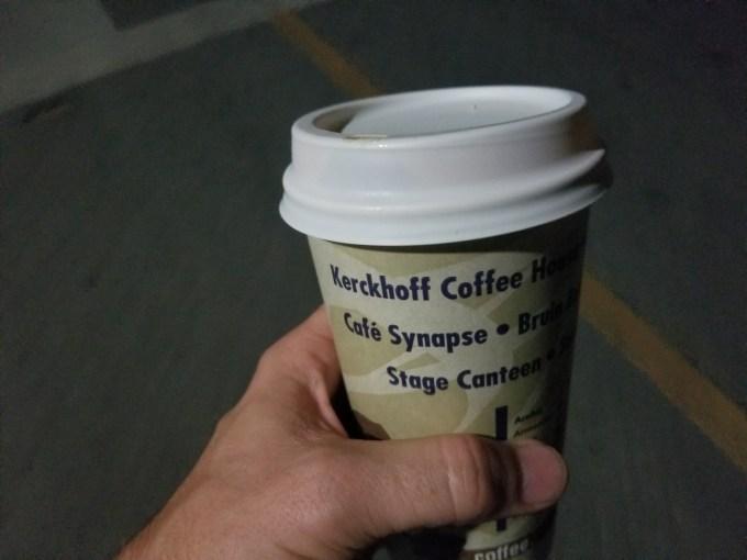 Checkin UCLA Kerckhoff Coffee House