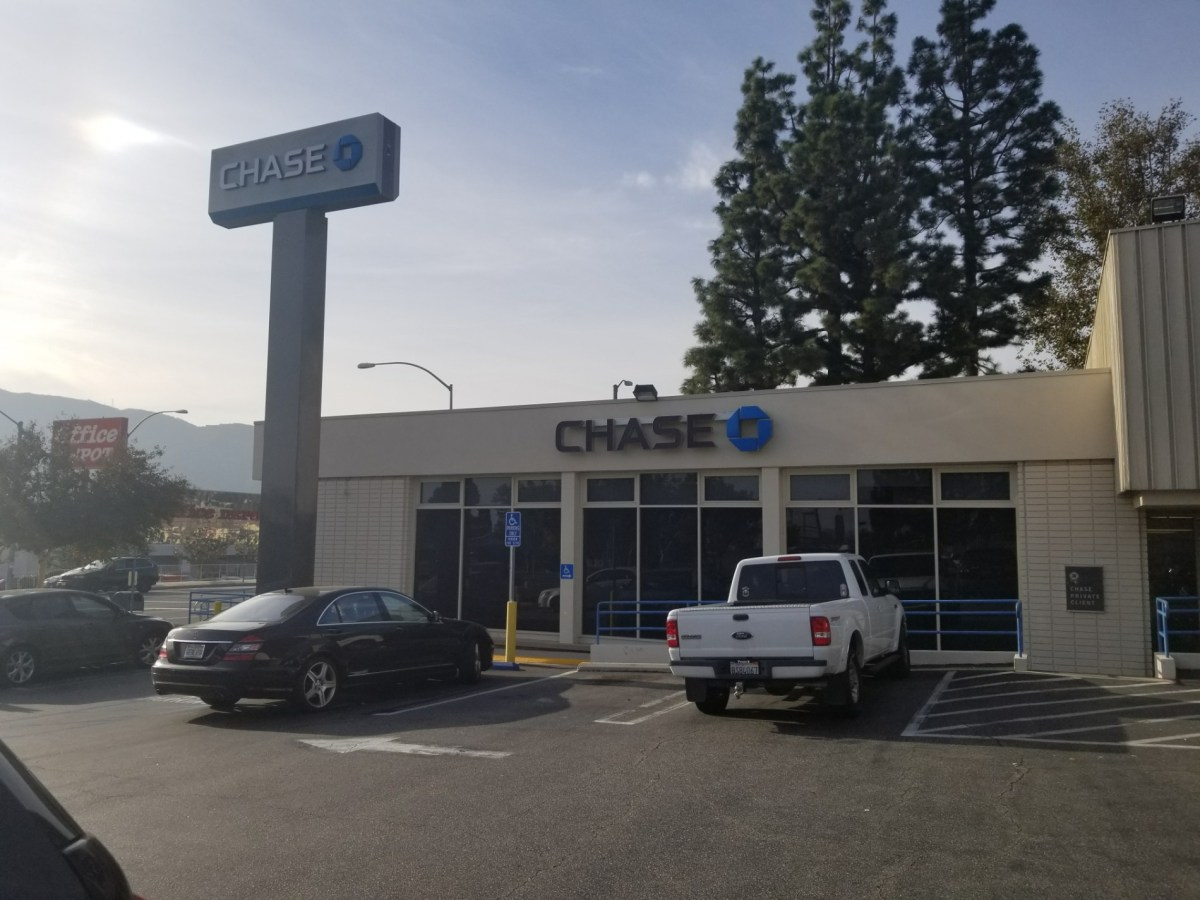 Checkin Chase Bank