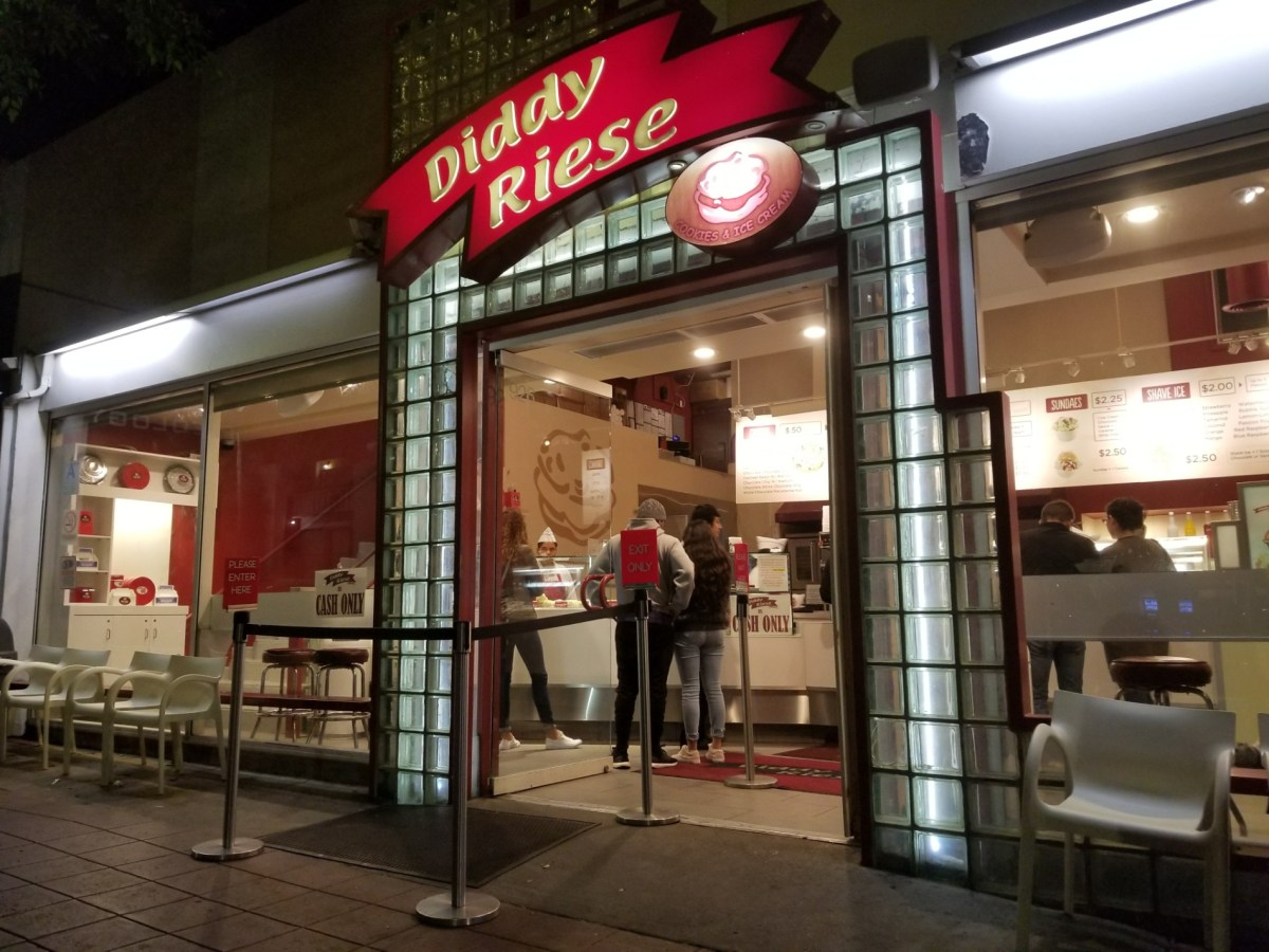 Checkin Diddy Riese