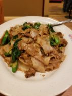 Pad See You with Beef