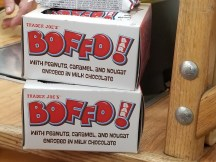 Boffo Bars! are back! I thought they'd disappeared for a while.