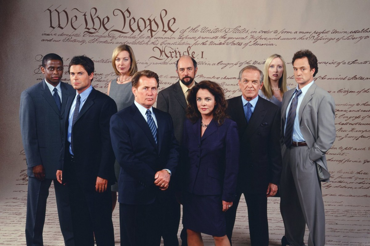 """📺 """"The West Wing"""" On the Day Before S3 E5"""