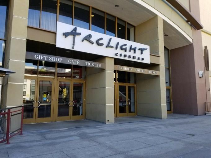 Checkin ArcLight Cinemas