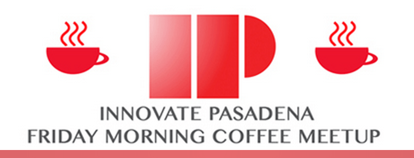 logo for Innovate Pasadena Friday Morning Coffee Meetup